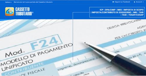 Riscossione di nuovi tributi comunali con F24 tramite Cassetto Tributario