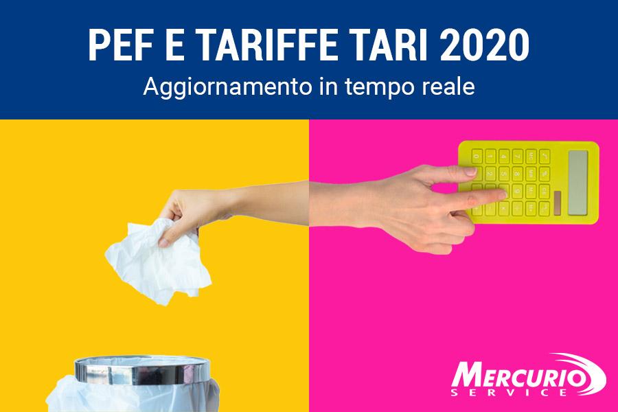 Aggiornamenti Pef e Tariffe Tari 2020